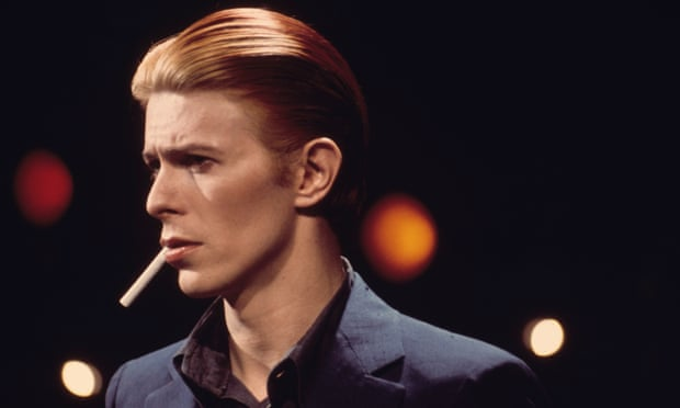 David Bowie pictured in 1976.
