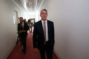 Shadow Attorney-General Mark Dreyfus in the press gallery of Parliament House, Canberra this morning, Wednesday 2nd December 2015.