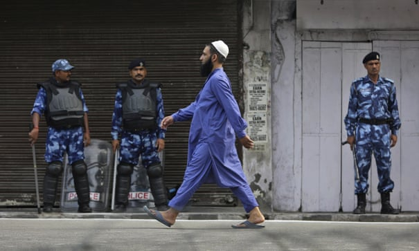 Eid in Kashmir muted as India bans large congregations   Kashmir   The Guardian