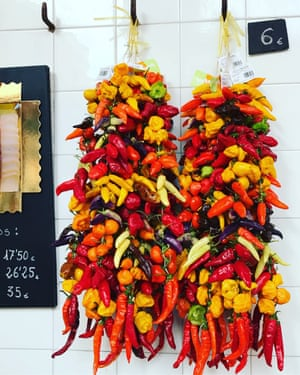 Peppers from Menorca.