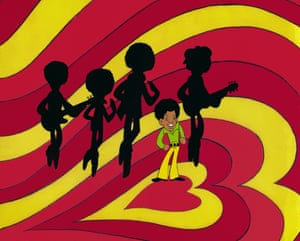'A total revolution': a frame from The Jackson Five's groundbreaking cartoon show.