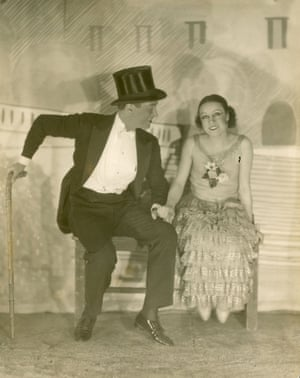 Maurice Chevalier and Yvonne Vallee 1924
