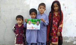 The family of Mohammad Azam, the taxi driver killed in US drone strike on Mullah Mansoor