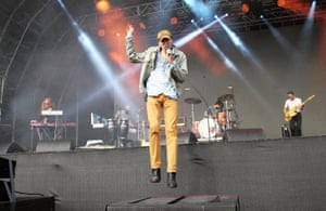 Bradford Cox leads the charge for Deerhunter at Field Day.