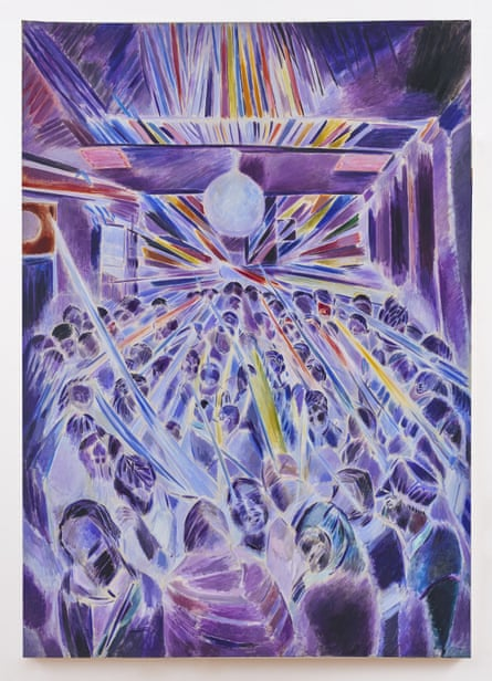Denzil Forrester's Night Strobe, 1985.