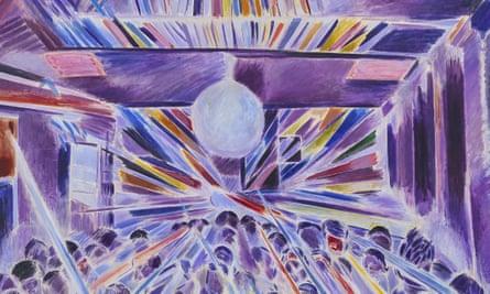 Denzil Forrester, Night Strobe, 1985. Copyright Denzil Forrester. Courtesy the artist and Stephen Friedman Gallery, London.