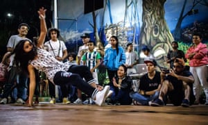 The 4 Elementos Skuela hip-hop initiative 'creates a new system in which women are secure in themselves and believe they can stand out in any activity', says Zuleima Pérez.