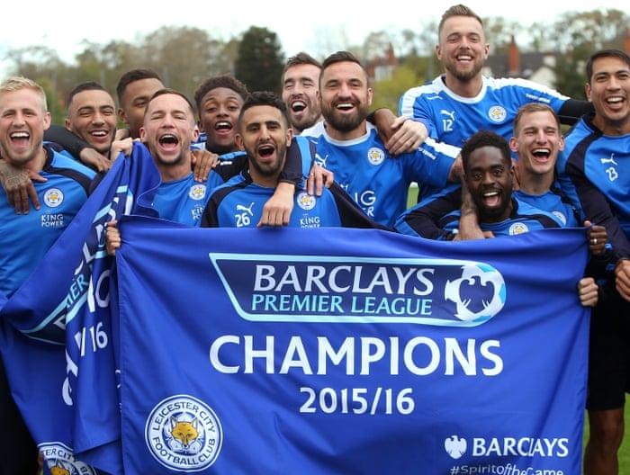 7e2262fe4 Leicester City  fans celebrate fairytale Premier League win – as it  happened