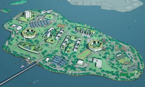 A group of Manhattan architects have created an alternative college-campus like plan for Rikers Island in opposition to the proposed towers.