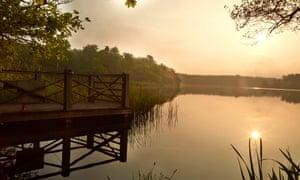 Fritton Lake Sunset