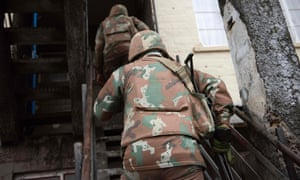 South African army sent into townships to curb gang violence