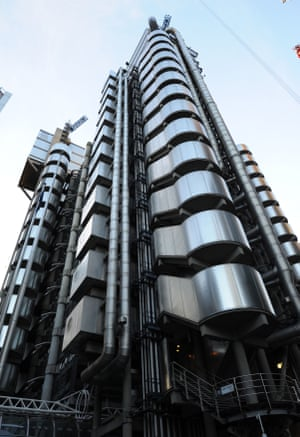 The Lloyds building in the City of London.