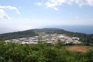 A view of the Christmas Island Immigration Detention Centre, Christmas Island.