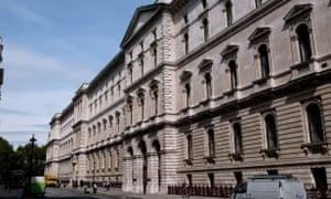 El Ministerio de Asuntos Exteriores en Londres