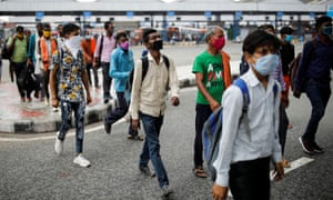 Experts say India needs to ramp up testing further to get the virus under control.
