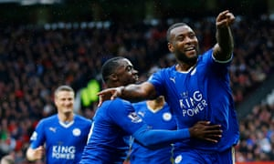 Leicester's Wes Morgan is delighted at scoring the league leaders equaliser.