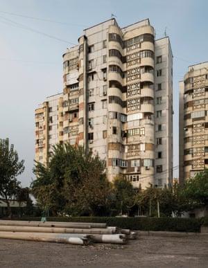 Residential building, 1980s, Tashkent, Uzbekistan