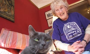 Joan Court was one of three 'granarchists' who campaigned successfully against a proposed animal research facility at Cambridge University