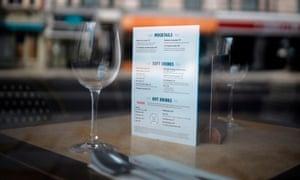 A Bella Italia restaurant stands empty.