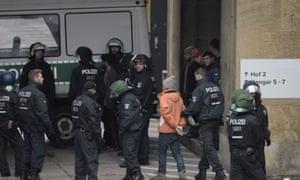 Police arrest refugee