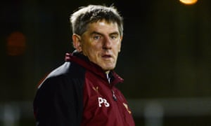 Peter Beardsley pictured in his previous coaching role at Newcastle.