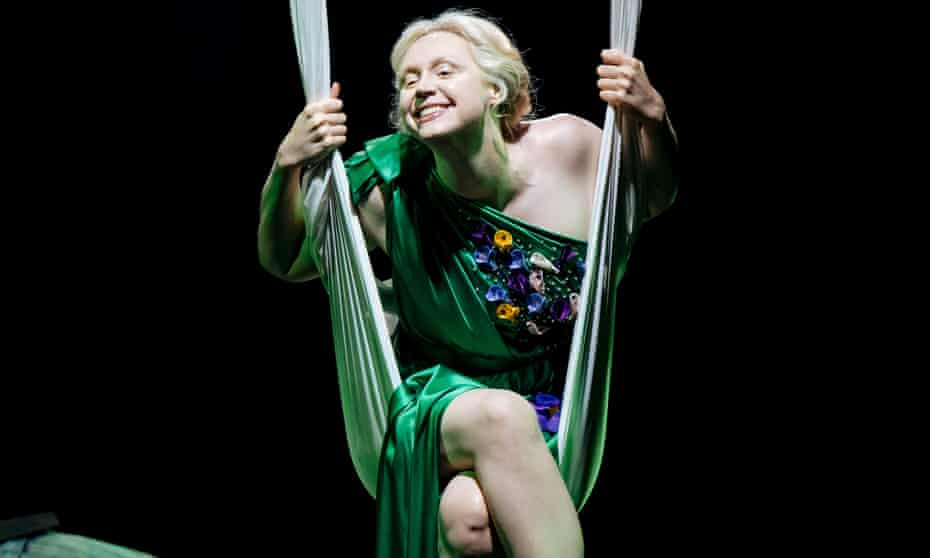 A pleasantly bonkers show … A Midsummer Night's Dream, with Gwendoline Christie as Titania.