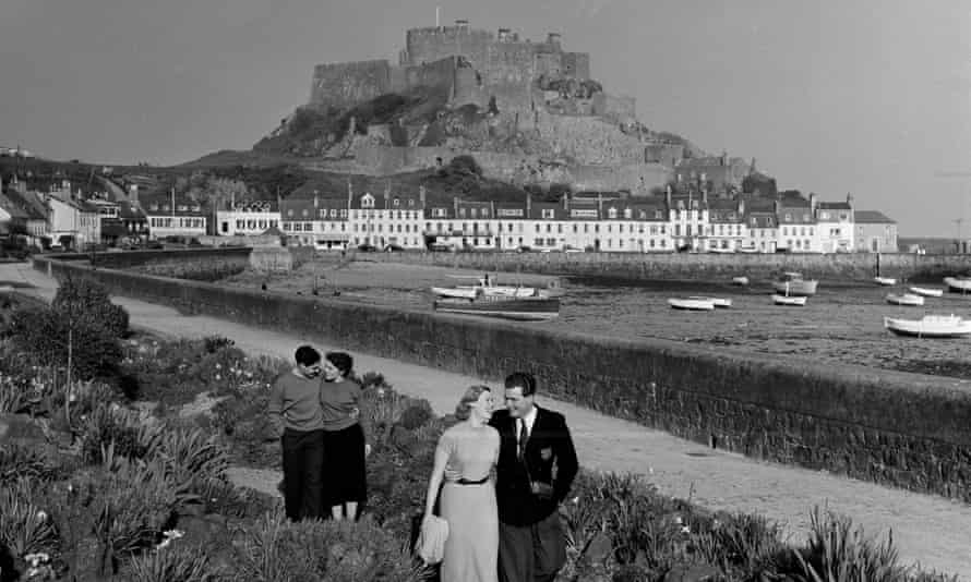 Jersey in the late 1950s, when the island's offshore finance industry opened for business.