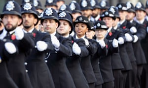The Metropolitan Police Service passing out parade in Hendon in 2017