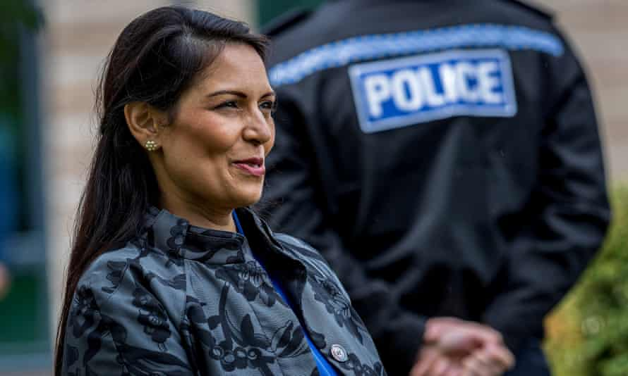 Nick Thomas-Symonds and Jess Phillips have written to the home secretary, Priti Patel (above), warning that the government must not be slow to act.