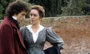 Walls of disapproval … Rufus Sewell as Will Ladislaw and Juliet Aubrey as Dorothea in the 1993 television version.