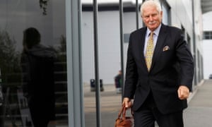 Keith Hellawell chairman of sportwear retailer Sports Direct