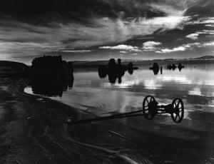 Mono lake, 1955