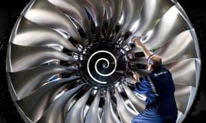 Rolls-Royce employs 55,000 people worldwide.