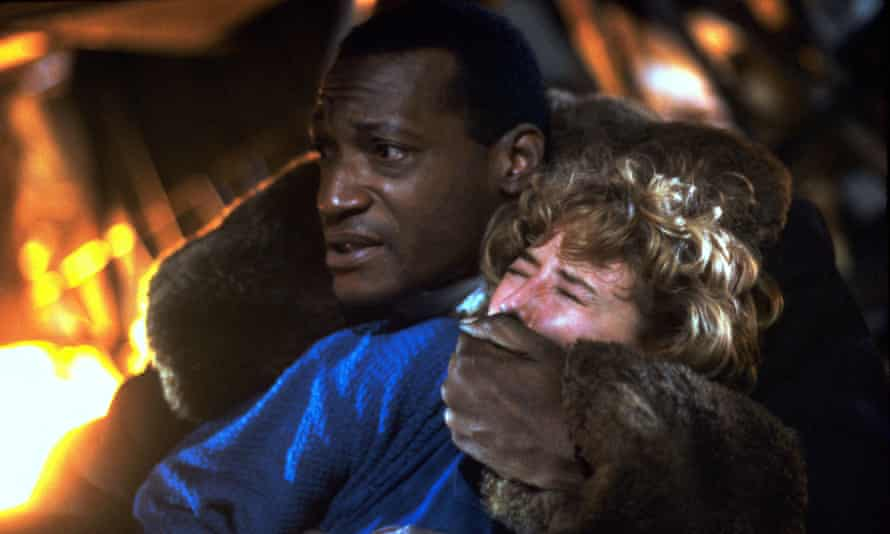 'At first, we needed a police escort' … Tony Todd and Virginia Madsen in the 1992 supernatural shocker.