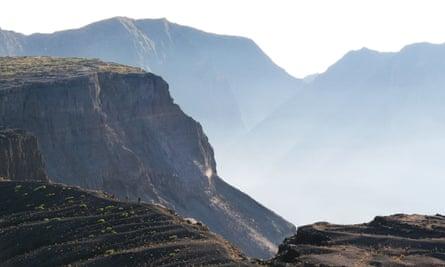 The crater of Tambora
