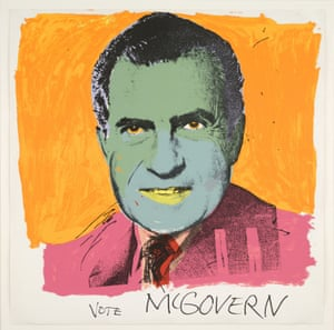 Vote McGovern, 1972 by Andy Warhol.