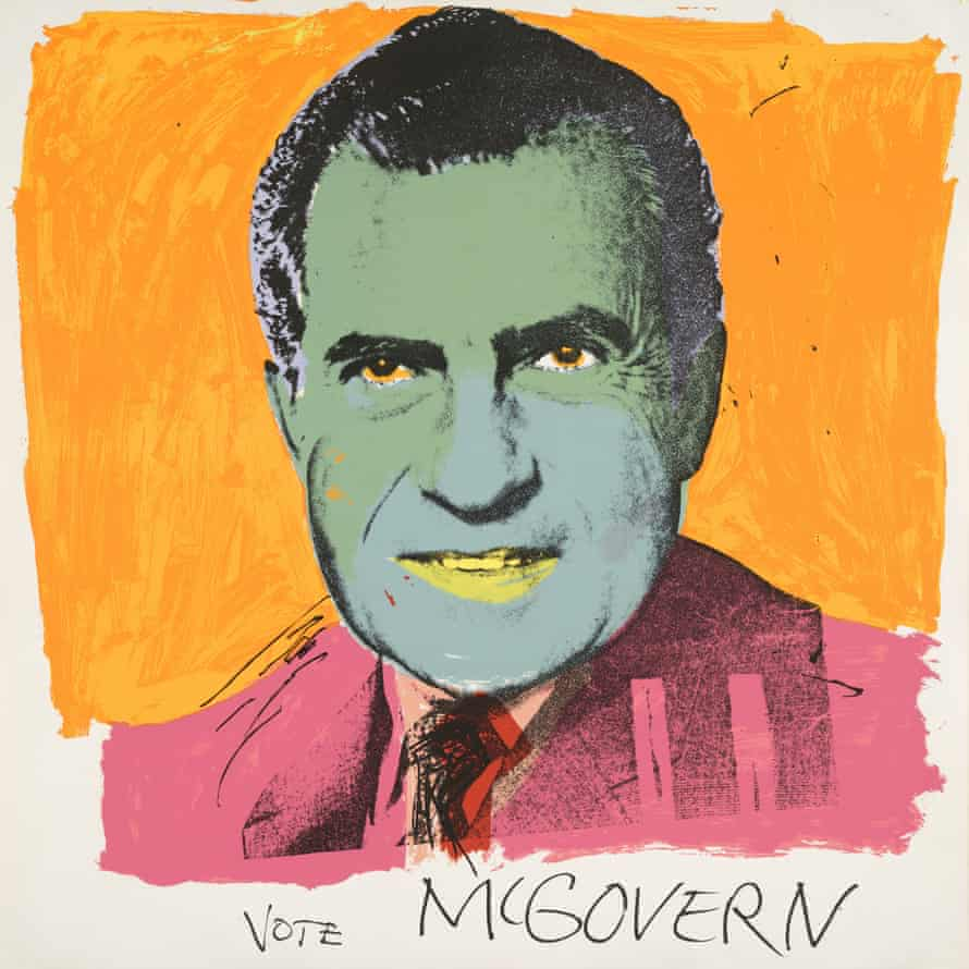 Andy Warhol, Vote McGovern, 1972.