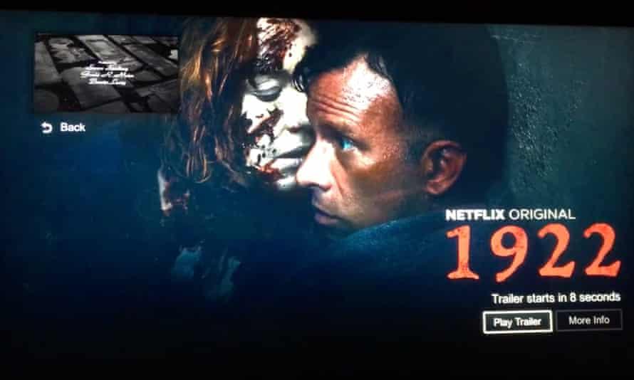 The finale of Schindler's List, as seen on Netflix.