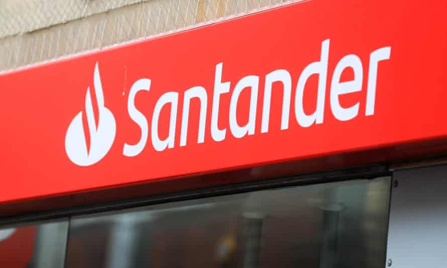 Santander logo signage