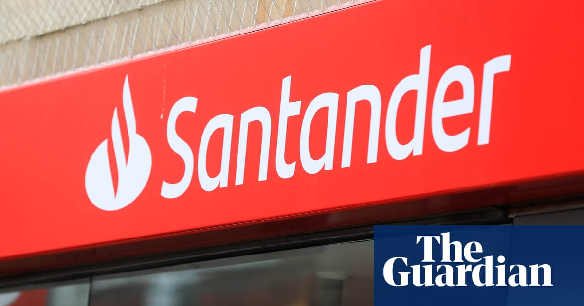 Santander apologises for 'technical problem' that affected online and card payments