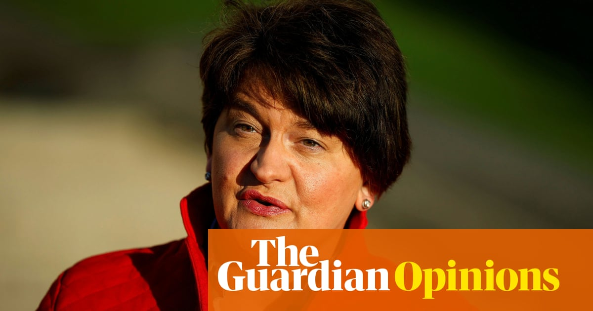 Arlene Foster has been thrown to the wolves by Johnson's Brexit games