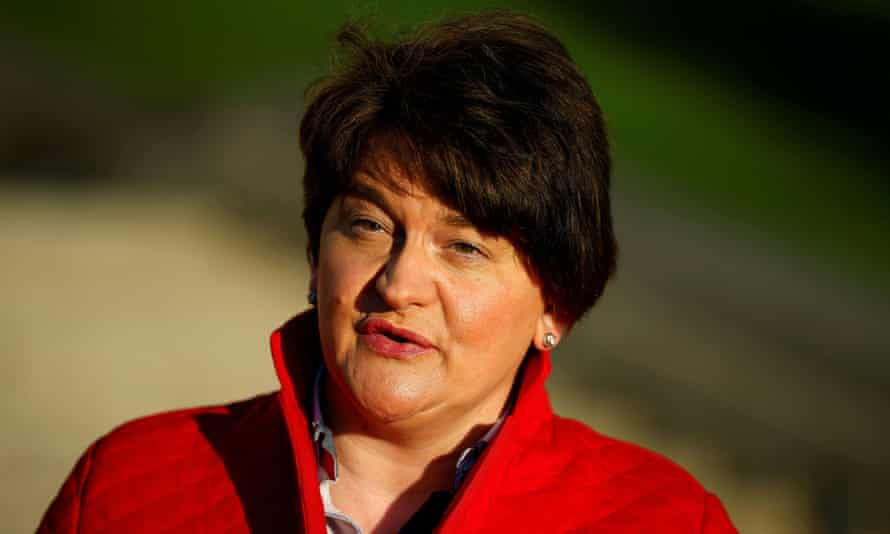 Northern Ireland first minister Arlene Foster