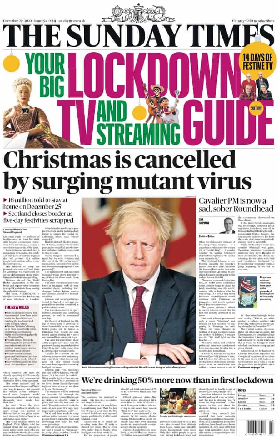 Sunday Times, 20 December 2020
