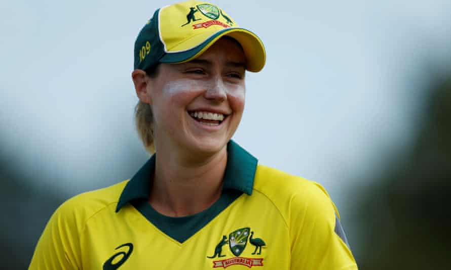 Australia's Ellyse Perry won the ICC's cricketer of the year and ODI player of the year.