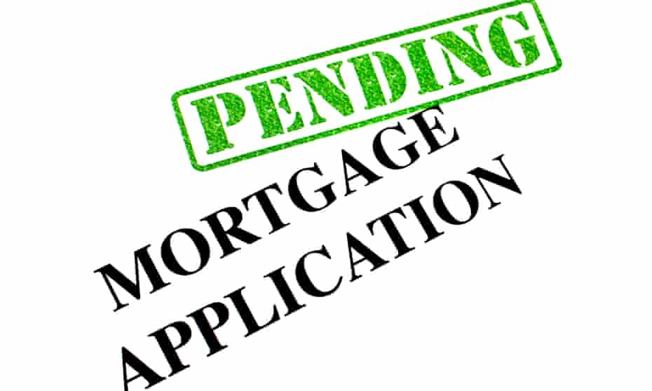 Why is our mortgage still in the pendiong tray with Nationwide?