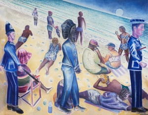 From Trench Town to Porthtowan, 2016 by Denzil Forrester.