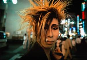 Shinjuku, Tokyo, 1986. Van der Elsken's final film, a response to his terminal illness, was defiantly titled Bye