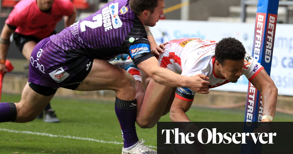 Tetevano sent off as St Helens knock out Challenge Cup holders Leeds