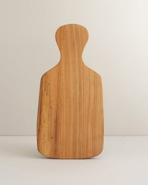 Pretty present: elm chopping board, £26