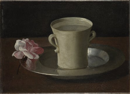 Quiet games … Zurbarán's A Cup of Water and a Rose, c.1630, one of the works brought out by Tacita Dean in her show Still Life.